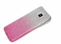Coque Samsung Galaxy A3 2017 Glitter Wave-Rose