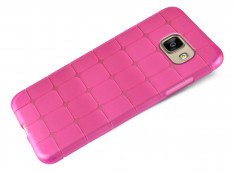 Coque Samsung Galaxy A3 2016 Flex Pink Square
