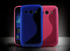 Coque Samsung Galaxy Ace 3 Silicone Grip Color