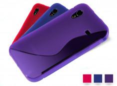 Coque Samsung Galaxy Ace Silicone Grip Color