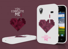 Coque Samsung Galaxy Ace You Complete Me
