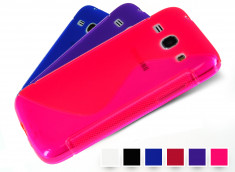 Coque Samsung Galaxy Core Plus Silicone Grip