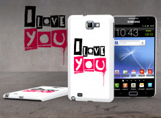 Coque Samsung Galaxy Note Street Love