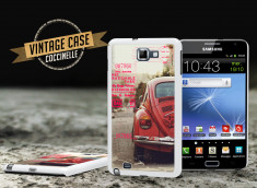Coque Samsung Galaxy Note Vintage Case - Beetle Spirit