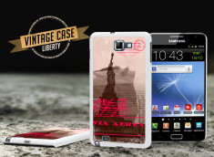 Coque Samsung Galaxy Note Vintage Case - Liberty