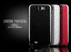 Coque Galaxy Note 2 Chrome Panthera