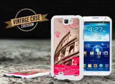 Coque Samsung Galaxy Note 2 Vintage Case - Colisseum