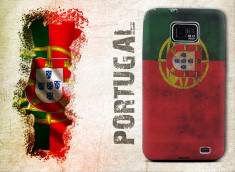 Coque Samsung Galaxy S3 Drapeau Grunge - Portugal