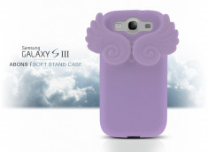 Galaxy S3 Abons Soft Stand Case