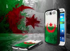 Coque Samsung Galaxy S3 Drapeau Algérie Grunge
