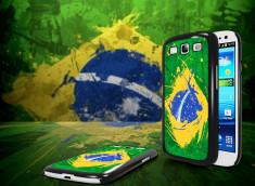 Coque Samsung Galaxy S3 Drapeau Brésil