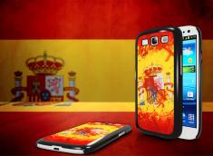 Coque Samsung Galaxy S3 Drapeau Espagne Grunge