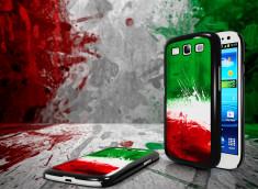 Coque Samsung Galaxy S3 Drapeau Italie Grunge