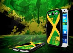 Coque Samsung Galaxy S3 Drapeau Jamaïque Grunge