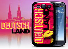Coque Samsung Galaxy S3 Lips Flag - Allemagne