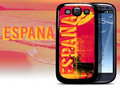 Coque Samsung Galaxy S3 Lips Flag - Espagne