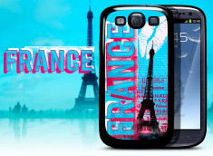 Coque Samsung Galaxy S3 Lips Flag - France