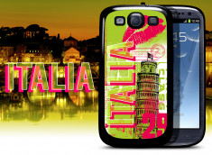 Coque Samsung Galaxy S3 Lips Flag - Italie