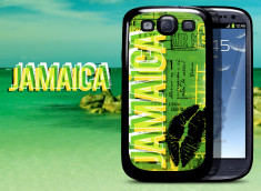 Coque Samsung Galaxy S3 Lips Flag - Jamaïque