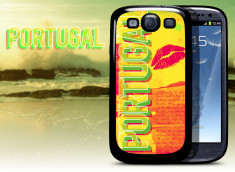 Coque Samsung Galaxy S3 Lips Flag - Portugal
