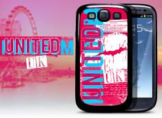 Coque Samsung Galaxy S3 Lips Flag - UK