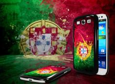Coque Samsung Galaxy S3 Drapeau Portugal Grunge
