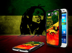Coque Samsung Galaxy S3 Drapeau Rastafari Grunge
