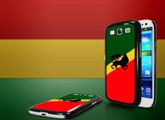 Coque Samsung Galaxy S3 Drapeau Rastafari
