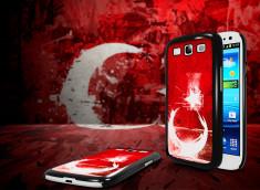 Coque Samsung Galaxy S3 Drapeau Turquie Grunge
