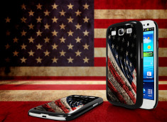 Coque Samsung Galaxy S3 Drapeau USA - Trash