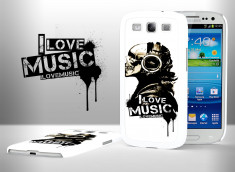 Coque Samsung Galaxy S3 I Love Music
