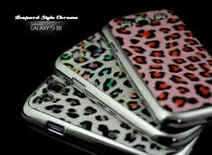 Coque Samsung Galaxy S3 Leopard Style Chrome
