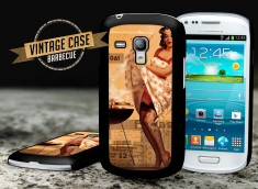 Coque Samsung Galaxy S3 mini Vintage Case - Barbecue Party