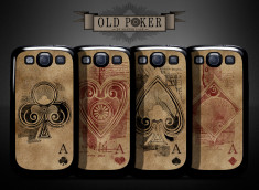 Coque Samsung Galaxy S3 Old Poker