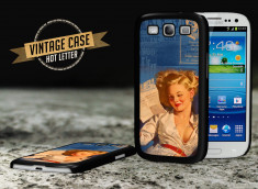 Coque Galaxy S3 Vintage Case - Hot Letter Pin Up