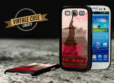 Coque Samsung Galaxy S3 Vintage Case - Liberty