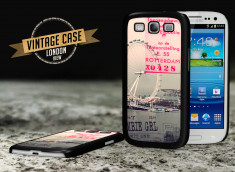Coque Galaxy S3 Vintage Case - London View