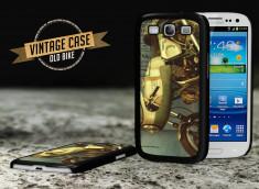 Coque Samsung Galaxy S3 Vintage Case - Old Motorbike