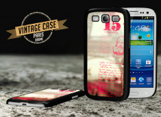 Coque Samsung Galaxy S3 Vintage Case - Paris Brume