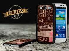 Coque Galaxy S3 Vintage Case - Streets Of NYC