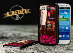 Coque Samsung Galaxy S3 Vintage Case - Times Square