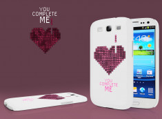 Coque Samsung Galaxy S3 You Complete Me