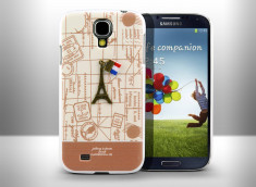Coque Samsung Galaxy S4 Paris by Happymori