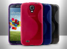 Coque Samsung Galaxy S4 Clear Waves