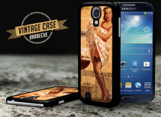 Coque Samsung Galaxy S4 Vintage Case - Barbecue Party
