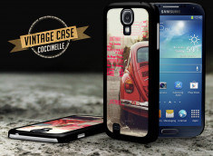Coque Samsung Galaxy S4 Vintage Case - Beetle Spirit