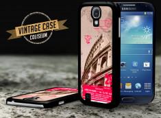Coque Samsung Galaxy S4 Vintage Case - Colisseum