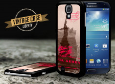 Coque Samsung Galaxy S4 Vintage Case - Liberty