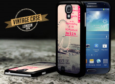 Coque Samsung Galaxy S4 Vintage Case - London View