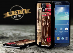 Coque Samsung Galaxy S4 Vintage Case - Old Car